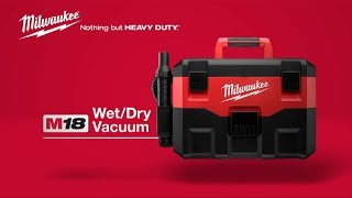 Milwaukee® M18™ Wet/Dry Vacuum 0880-20