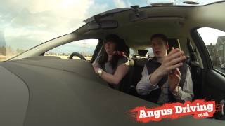 Junctions Entering Left Right Turn Lesson Video (Driving Test Tips)...AngusDriving (Edinburgh)