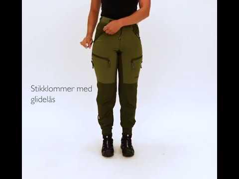 Dovrefjell Custom Fit bukse, Forest Green til dame | Alt til