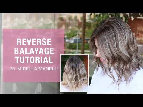 Reverse Balayage Technique By Mirella Manelli | Kenra Color | Kenra Professional