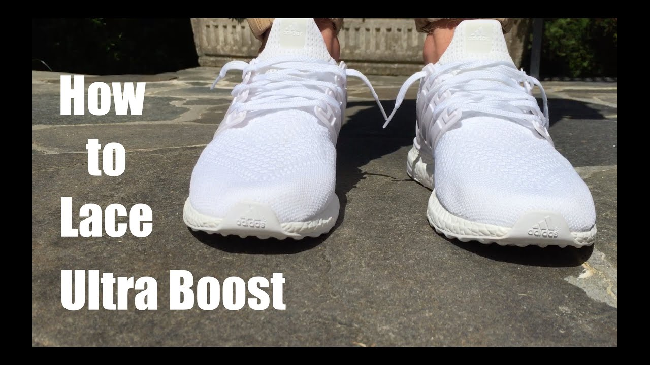 adidas ultra boost schnürsenkel