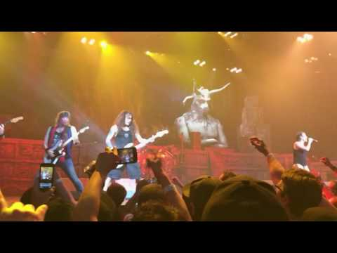 Iron Maiden, The Number of the Beast , American Airlines Center, Dallas 6-23-2107
