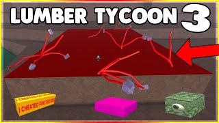 LOOKING FOR SECRET LUMBER TYCOON 3! (CANDY CANE BIOME!) ROBLOX