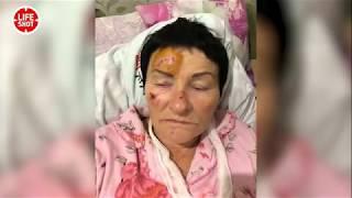 Пожилую женщину избили пьяные гопники на Кубани в станице Смоленская
