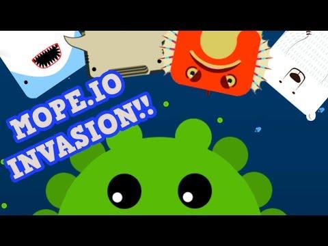 DEEEEP.IO - MOPE.IO INVASION!! // Kraken Destroys Everyone (Deeeep.io Hacks)