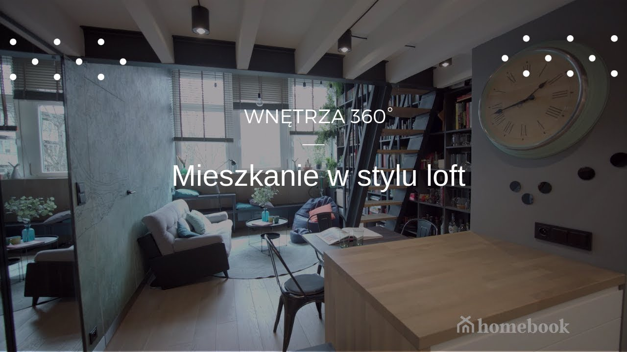 Mieszkanie W Krakowie W Stylu Loft Youtube