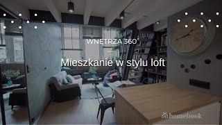 Mieszkanie w Krakowie w stylu loft ❤