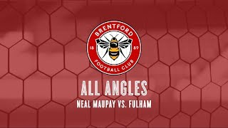 All Angles: Neal Maupay Vs. Fulham