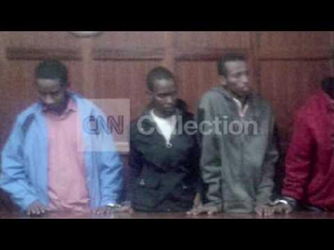 KENYA: TERROR SUSPECTS IN COURT (PHOTOS)