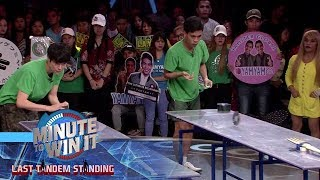 Get Giant Forked | Minute To Win It - Last Tandem Standing