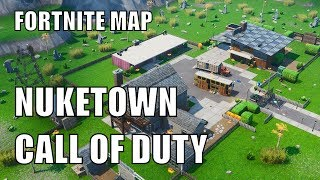 Nuketown Call of Duty | Fortnite Map CODE