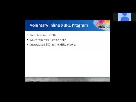SEC Inline XBRL Proposal: Where It Leads for Issuers, XBRL Providers & Data Users