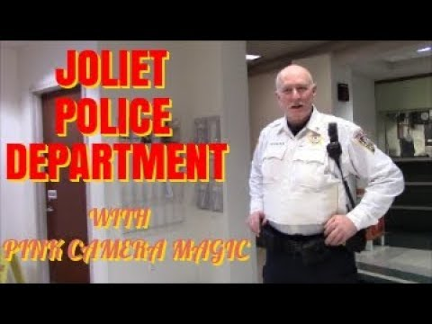 1st Amendment Audit, Joliet Police Department W/ Pink Camera Magic