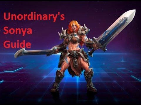 Build Sonya Hots