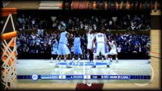 NCAA Basketball 10 Xbox 360 (HD) (North Carolina vs. Duke) Gameplay / Review