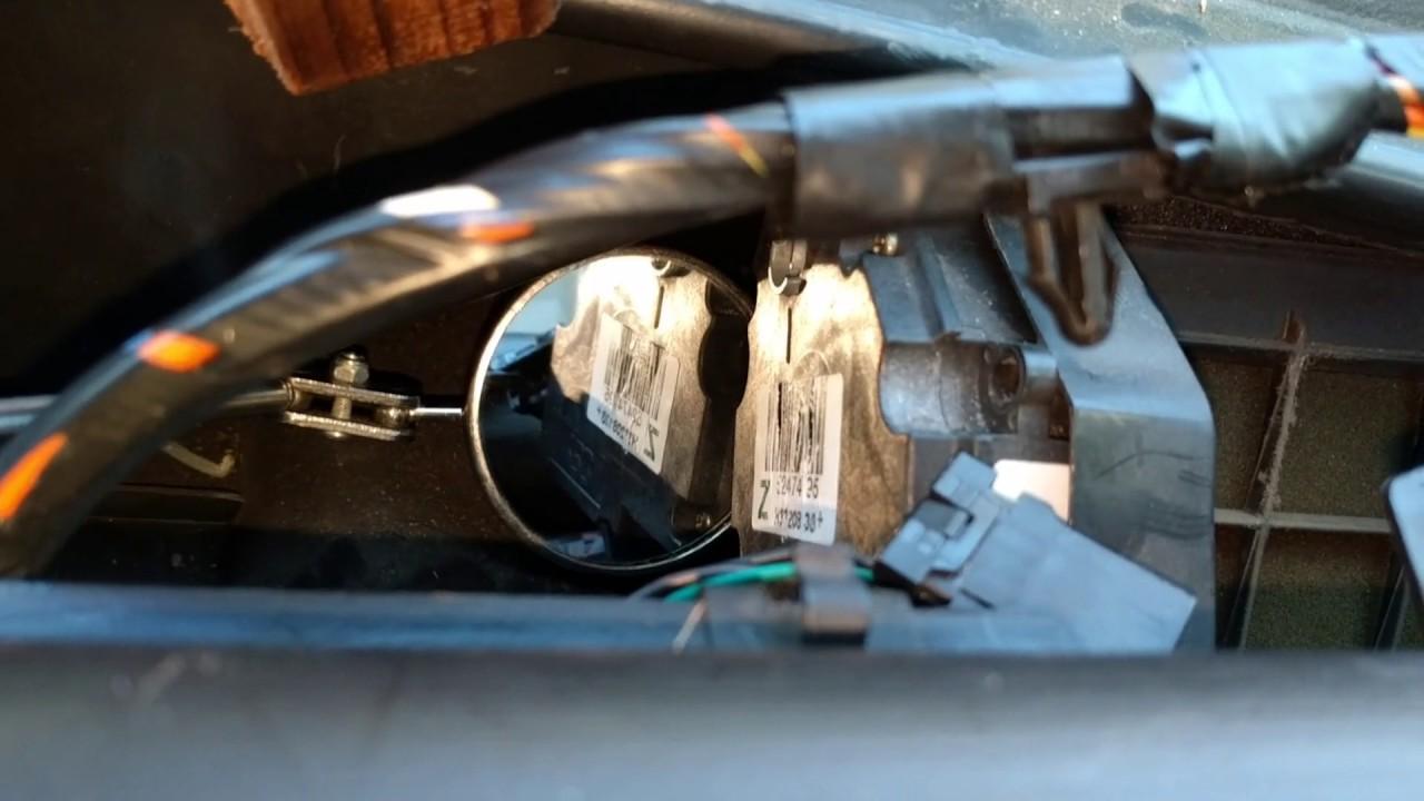 Suburban 2002 hvac recirculation door actuator LONG ...