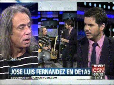 C5N -  MUSICA:  JOSE LUIS FERNANDEZ EN DE1A5