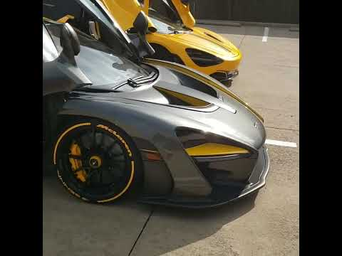 McLaren Senna & 720S at CoVerica