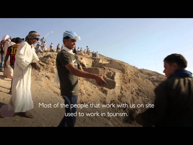 The Sons of Luxor: Unearthing Egypt's past for a brighter future