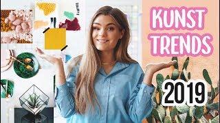 KUNST TRENDS 2019 - Moodboard für das Neue Jahr! // I\'mJette