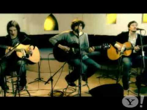 Snow Patrol 'Hands Open' Live@Yahoo! Music