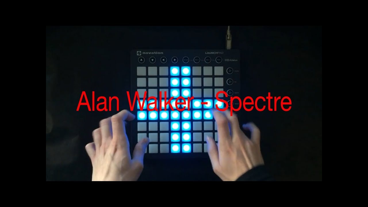 Alan Walker Spectre Launchpad Mkii Cover Youtube