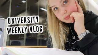 A VERY BUSY WEEK AT UNI   uni weekly vlog