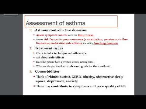 Therapy 2 - Asthma - Part 2 - Shahd Habash
