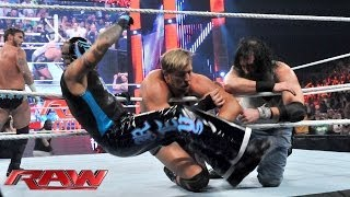 CM Punk, Daniel Bryan, The Rhodes Brothers & The Usos vs. The Shield & The Wyatt Family - 12-Man Tag