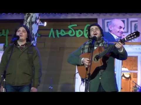 Максим Кривошеев и Сергей Степанченко Этап на Север