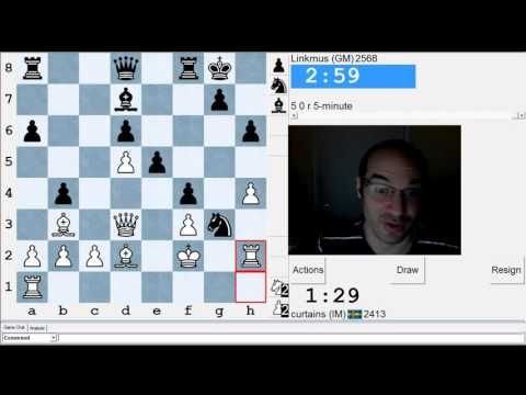 5 minute chess #513: GM Tanguy Ringoir