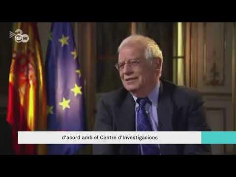 Borrell planta un periodista de la cadena alemanya Deutsche Welle