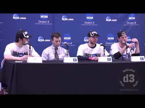 NCAA Division III Men's Frozen Four - Trinity College News Conference