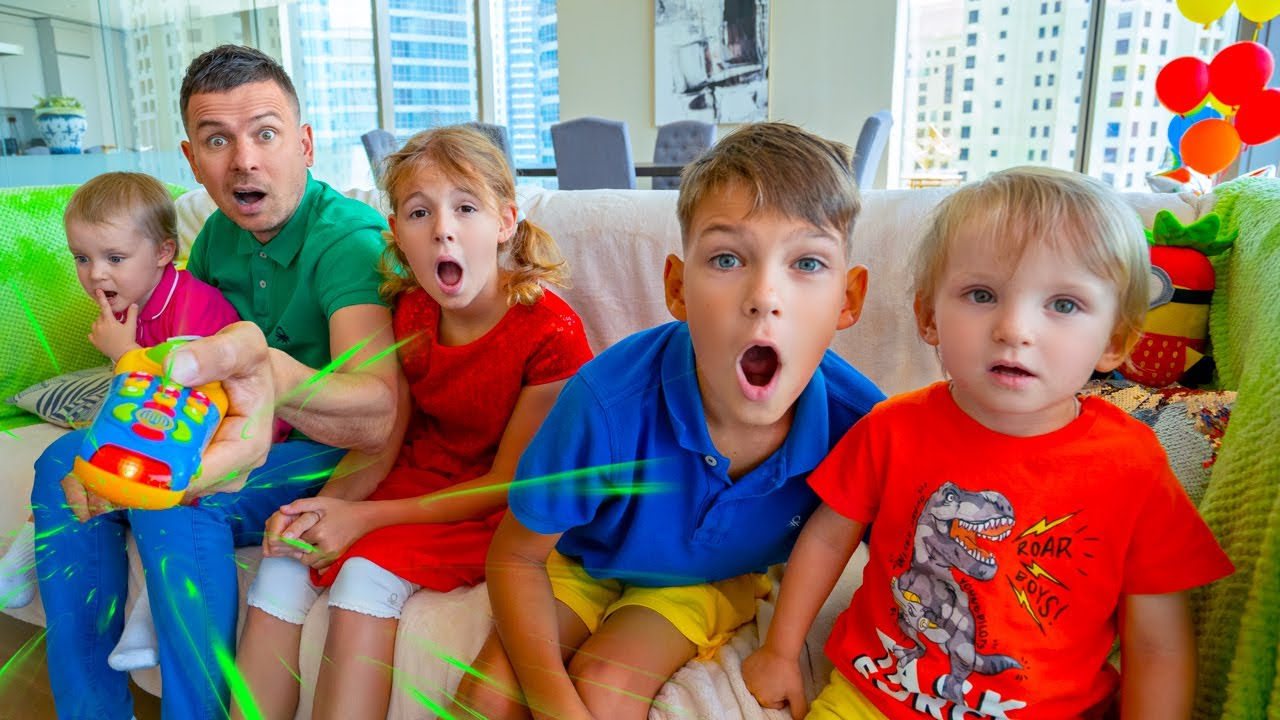 Five Kids Mysterious Adventures + more Children's Songs and Videos