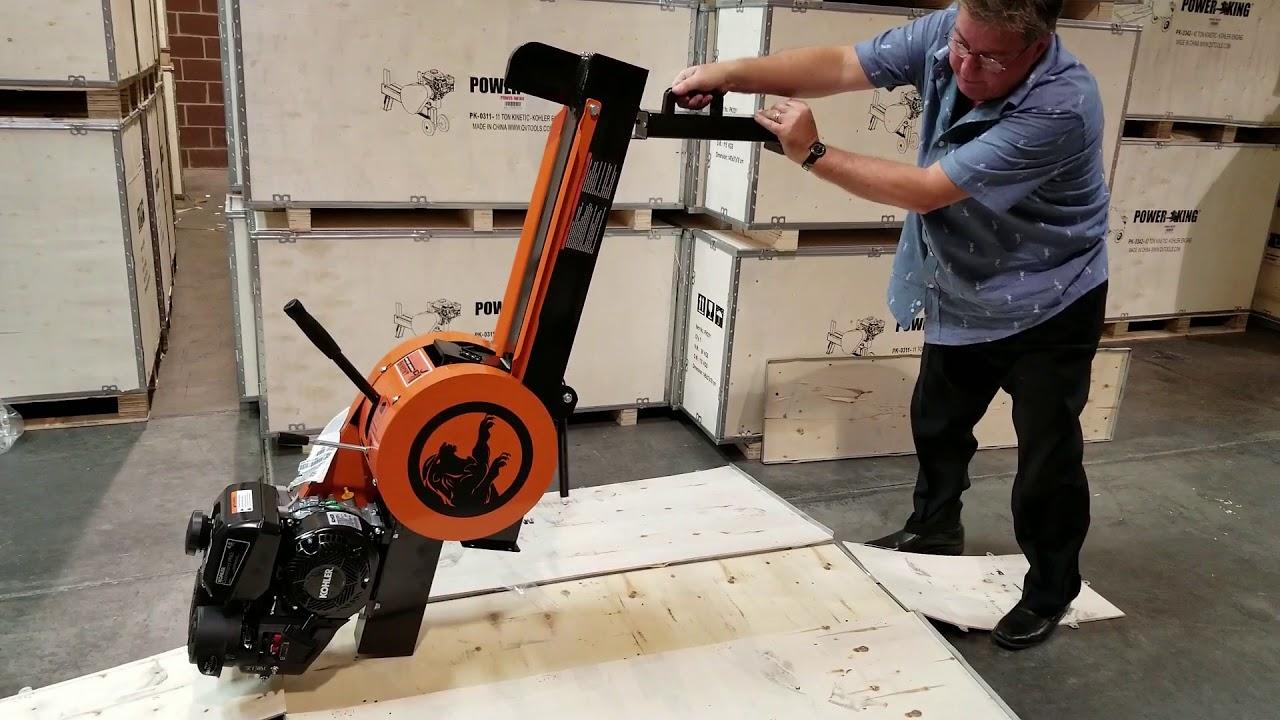 QVTools / PowerKing Kinetic Log Splitters