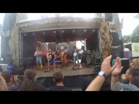 Steve 'n' Seagulls  - The Trooper - Wacken 2015 Live [HD] 1080p