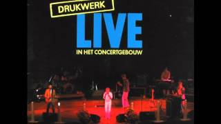 Drukwerk - Je loog tegen mij (Live)