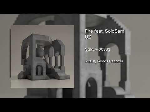 UZ - Fire Feat  SoloSam (Instrumental)