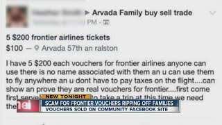 Airline scam targets Colorado Facebook users