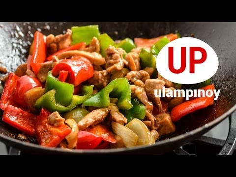 CHICKEN STIR FRY EASY to cook — Ulam Pinoy #37