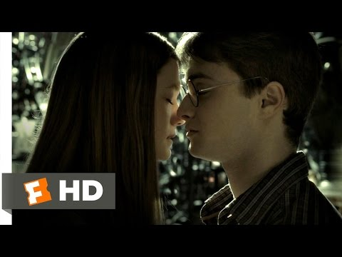 Harry Potter and the HalfBlood Prince 25 Movie   Harry and Ginny Kiss 2009 HD
