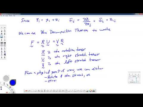 Theory of Elasticity-06.5-Comments on Deformation Gradient thumbnail
