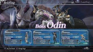 Dissidia Final Fantasy NT - Odin Boss Battle Gameplay Walkthrough [1080p 60FPS HD]