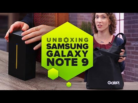 Unboxing the Samsung Note 9: Heres everything you get