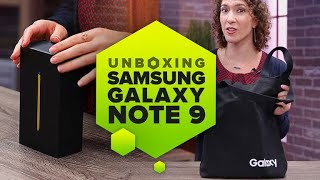 Unboxing the Samsung Note 9: Here