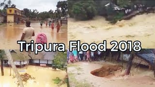 TRIPURA FLOOD 2018 15/06/2018 Flood at tripura