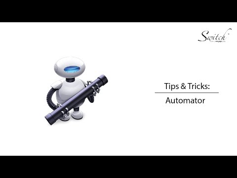 Tips & Tricks: Automator for Mac