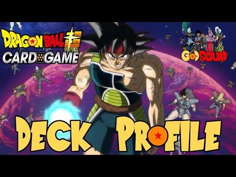 1st Place Bardock Great Ape Deck Profile - Dragon Ball Super Card Game w/Master MariK
