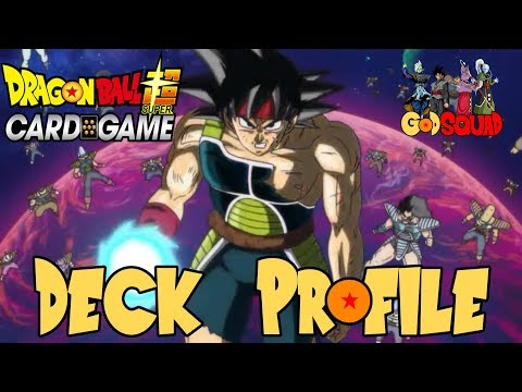 1st Place Bardock Great Ape Deck Profile - Dragon Ball Super Card Game w/Master MariK