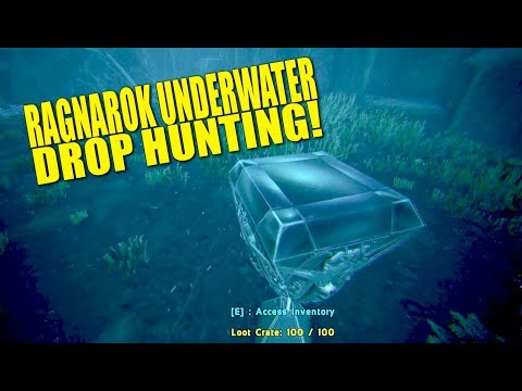 Ragnarok Underwater Drop Hunting! (Official Pvp Tribe Life) - Ark:survival Evolved - Ep.3
